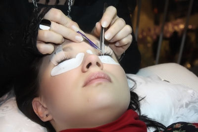 Wimpern Applikation (1)